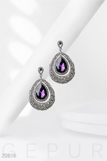 Large pendant earrings  photo 1