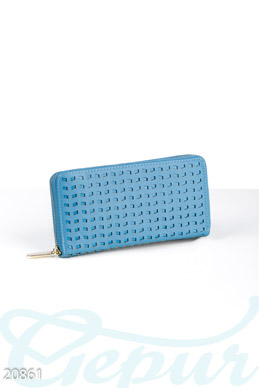 Wallet with perforation  photo 1