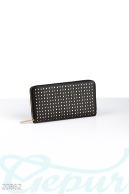Perforated women's wallet photo 1