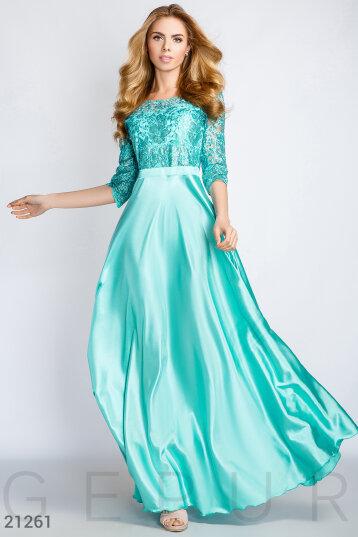 dc48cc00b0ce185 Купить платья бирюзового цвета по низкой цене в Украине и России | GEPUR