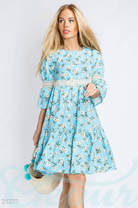 Село платье из льна что делать