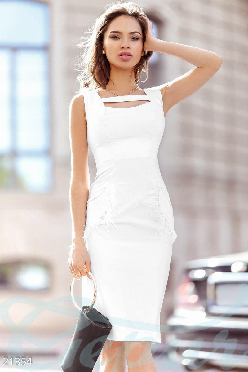 62e77addd1e236 Елегантне плаття перо - купити оптом і уроздріб | GEPUR