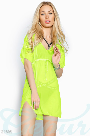 Beach tunic oversize photo 1