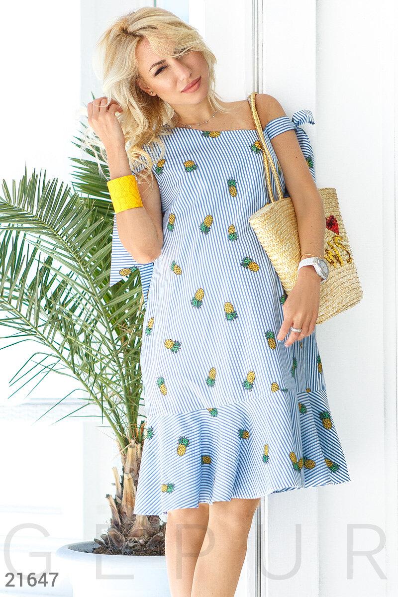 Летнее платье для мамы
