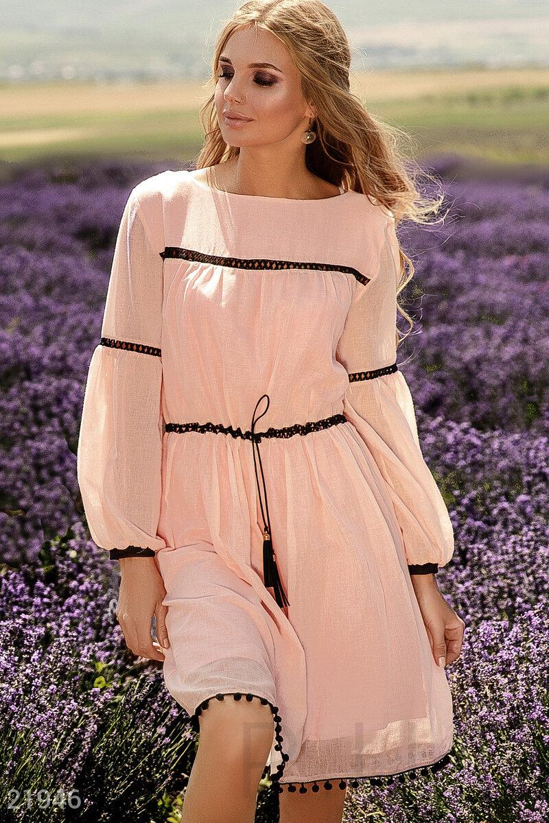 a8b6b1a23f3 Нежное летнее платье - купить оптом и в розницу