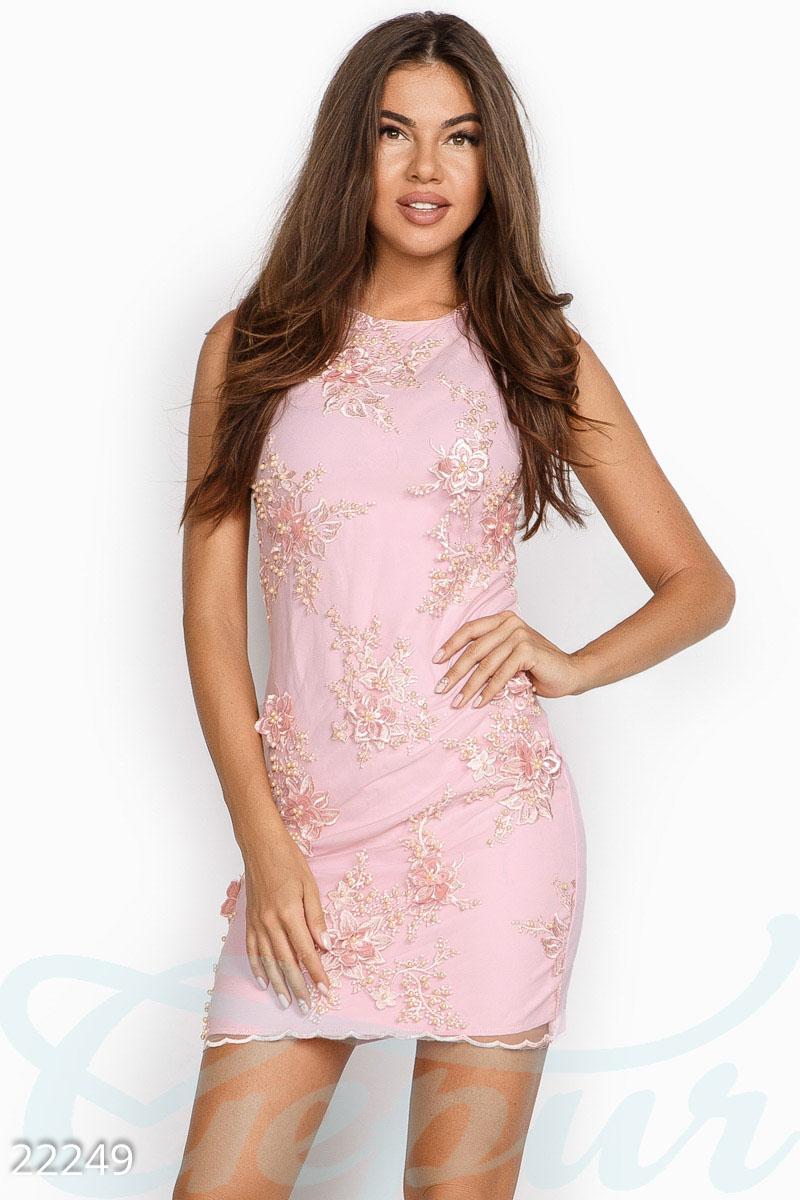 ad6c12fc8a3 Эффектное коктейльное платье - купить оптом и в розницу