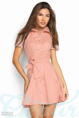 Natural shirt dress photo 1