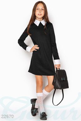 Neat school dress photo 1