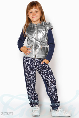 Stylish children's jacket photo 1
