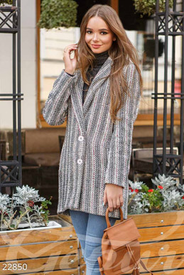 Stylish warm coat photo 1