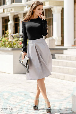 The skirt is A-line  photo 1