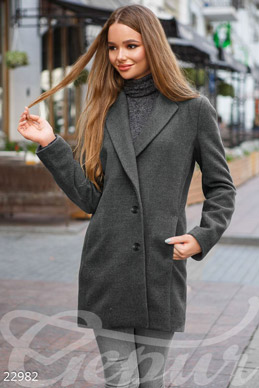 Winter coat cashmere photo 1