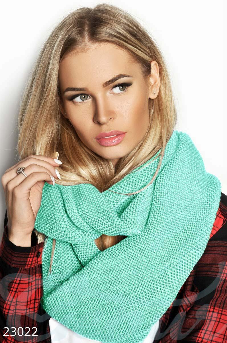 вязаный шарф хомут купить оптом и в розницу Gepur