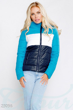 Short quilted jacket photo 1