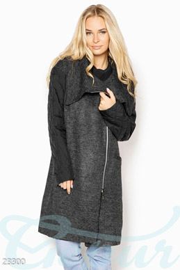 Women's knitted coat photo 1