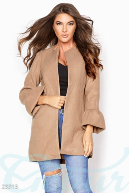 Exquisite cashmere coat photo 1
