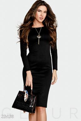 5f1d6fc3e69 Выразительное платье-миди фото 1