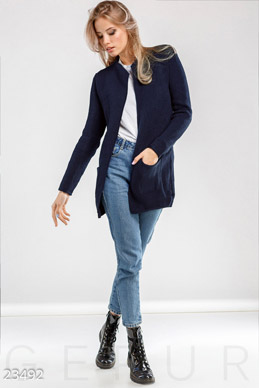 Neat wool cardigan photo 1
