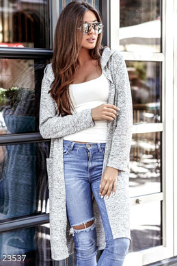 Thin knit cardigan  photo 1