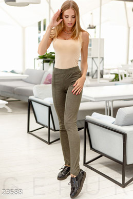 Leggings with cutout heel  photo 1