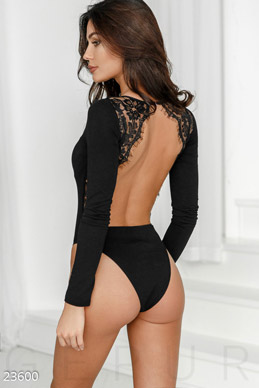 Bodysuit with lace  photo 1