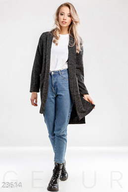 Aroroy longline cardigan photo 1