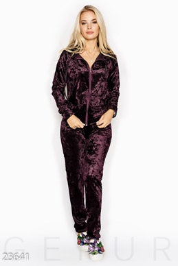 Velvet pantsuit  photo 1
