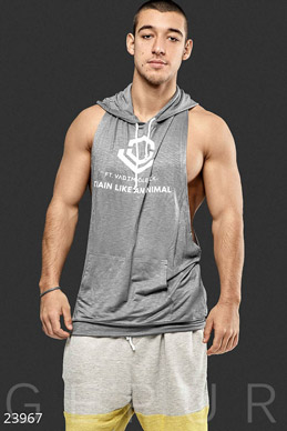 Mens sports tank top photo 1