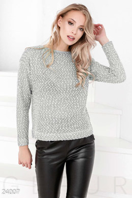 Soft knitted sweater  photo 1