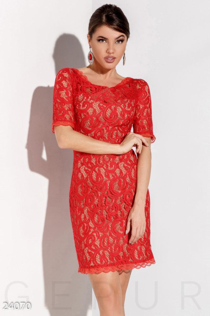0039d526303869f Роскошное гипюровое платье - купить оптом и в розницу   GEPUR