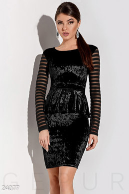 Elegant dress peplum  photo 1