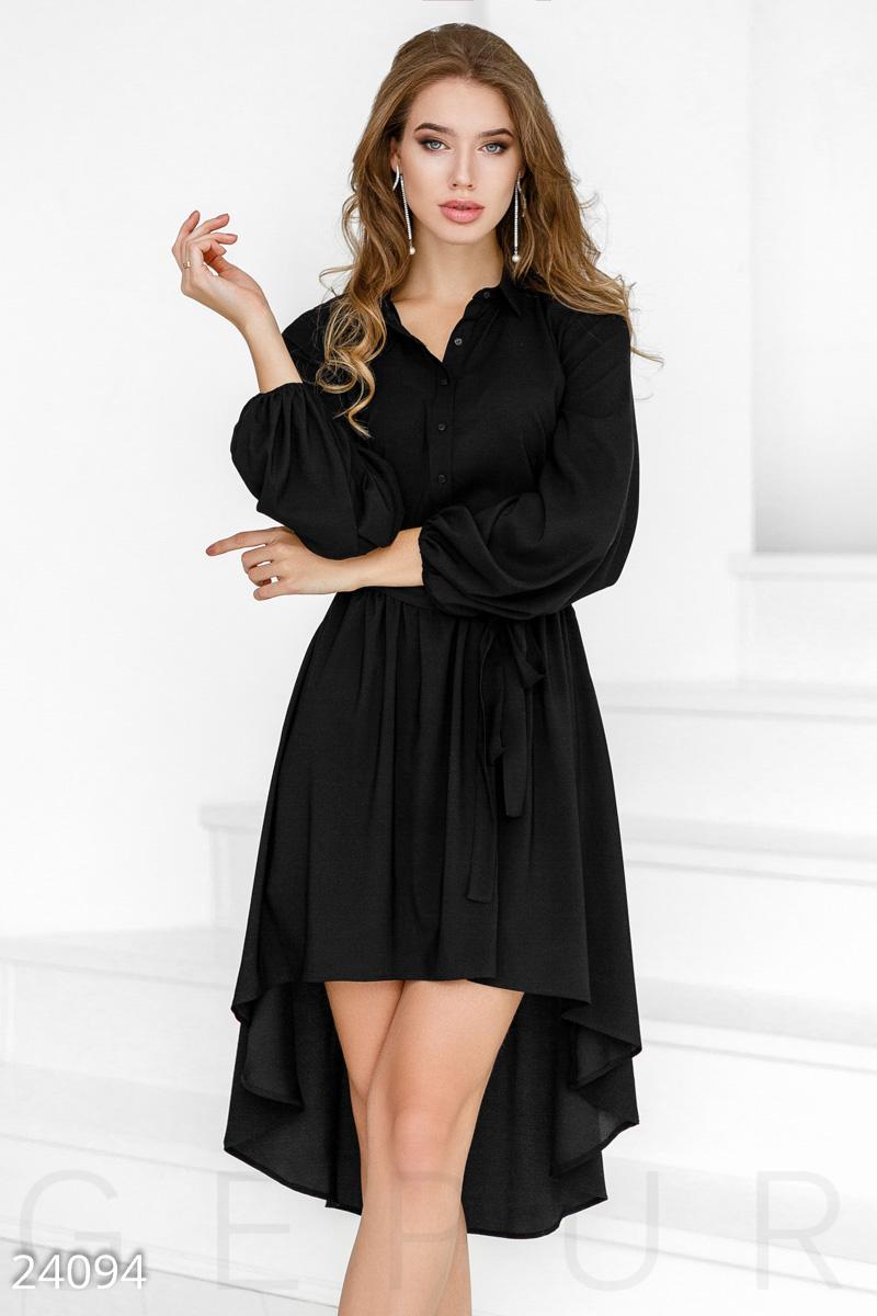 a668e785454c72a Шелковое платье-каскад - купить оптом и в розницу | GEPUR