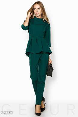 Peplum pantsuit photo 1