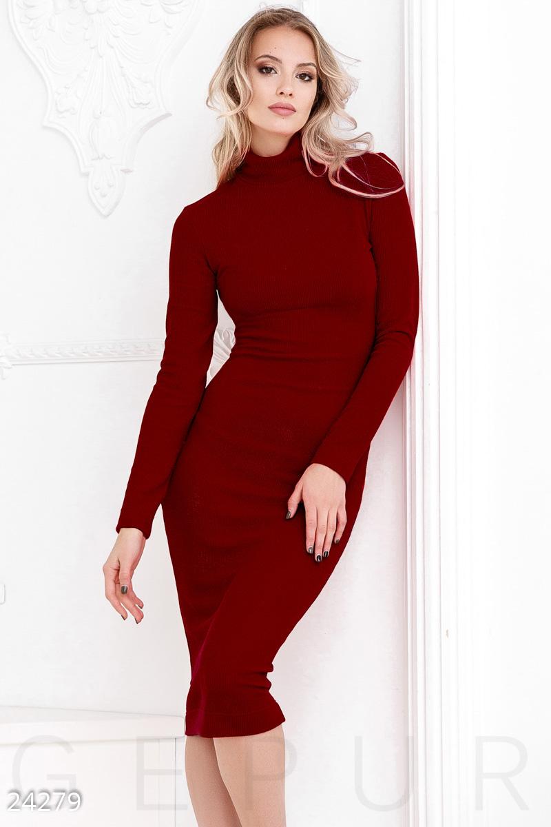 ecdc808d679 Платье в рубчик - купить оптом и в розницу