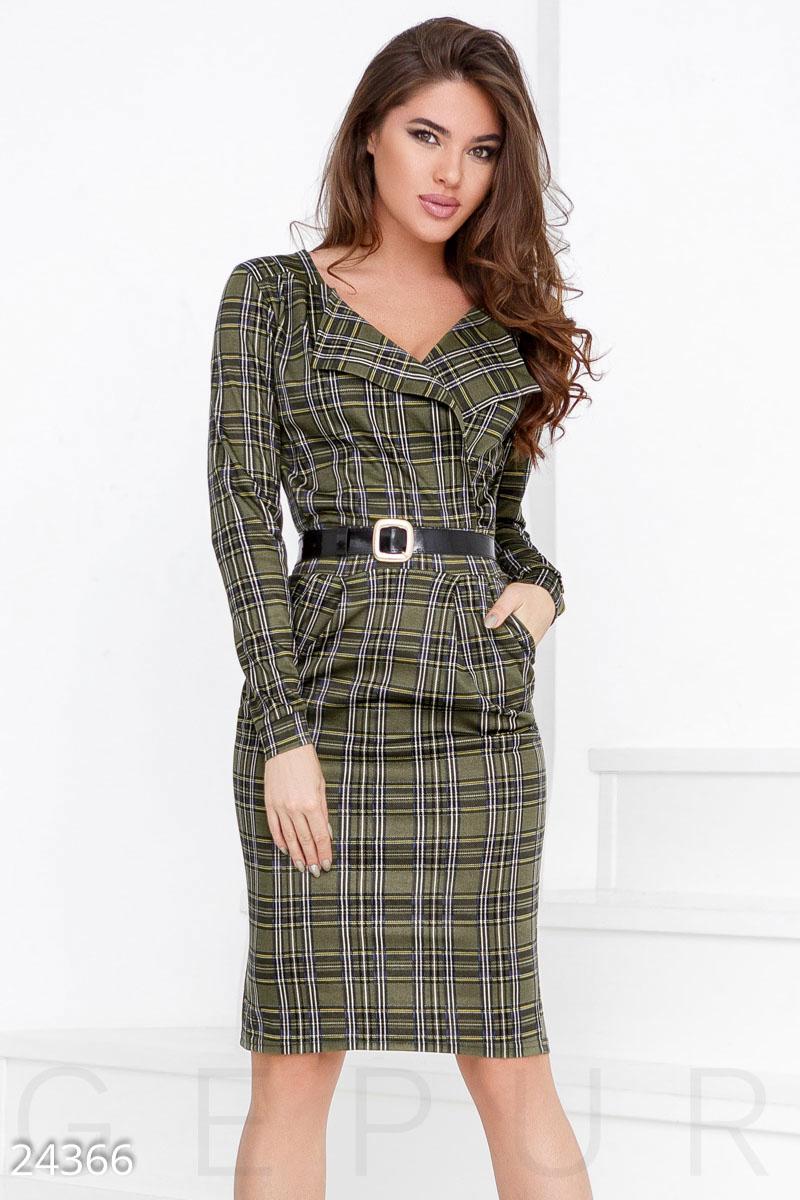 d8a538b2b83dbb Трикотажне плаття-шотландка - купити оптом і уроздріб   GEPUR