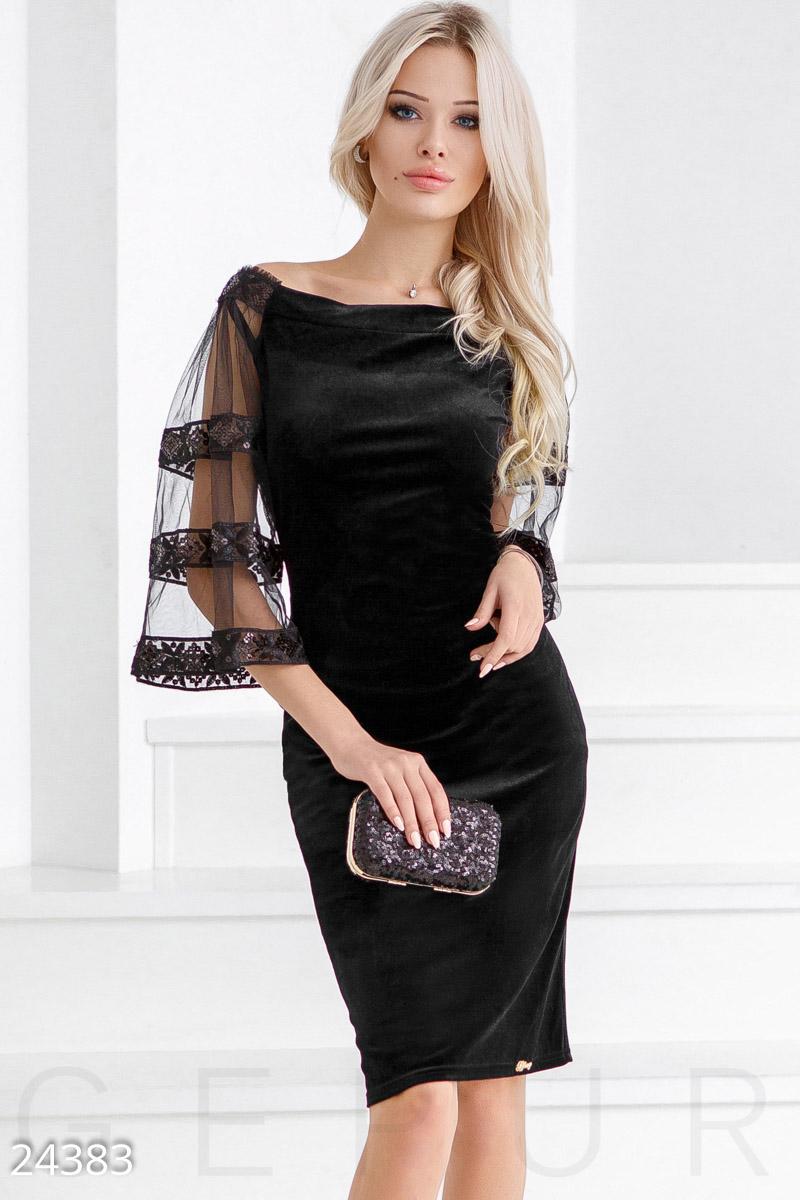 1ce7fe8330d Вечернее бархатное платье - купить оптом и в розницу