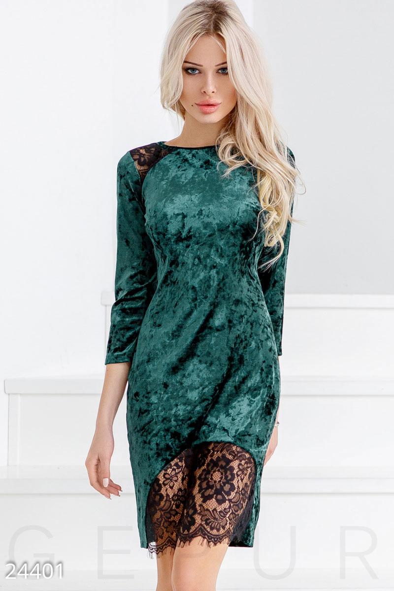 cc964dbfab3 Трендовое бархатное платье - купить оптом и в розницу