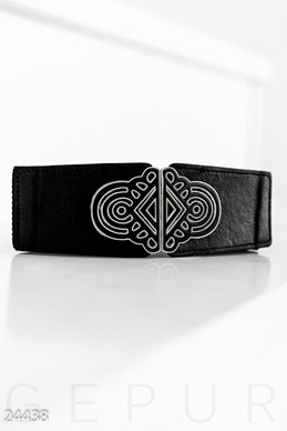 Elastic strap with buckle  photo 1