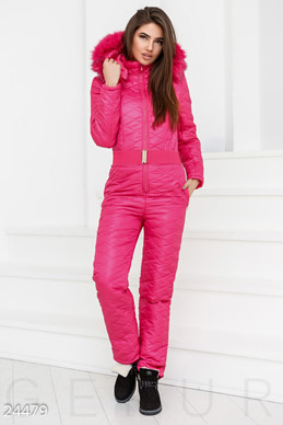 Warm quilted jumpsuit  photo 1