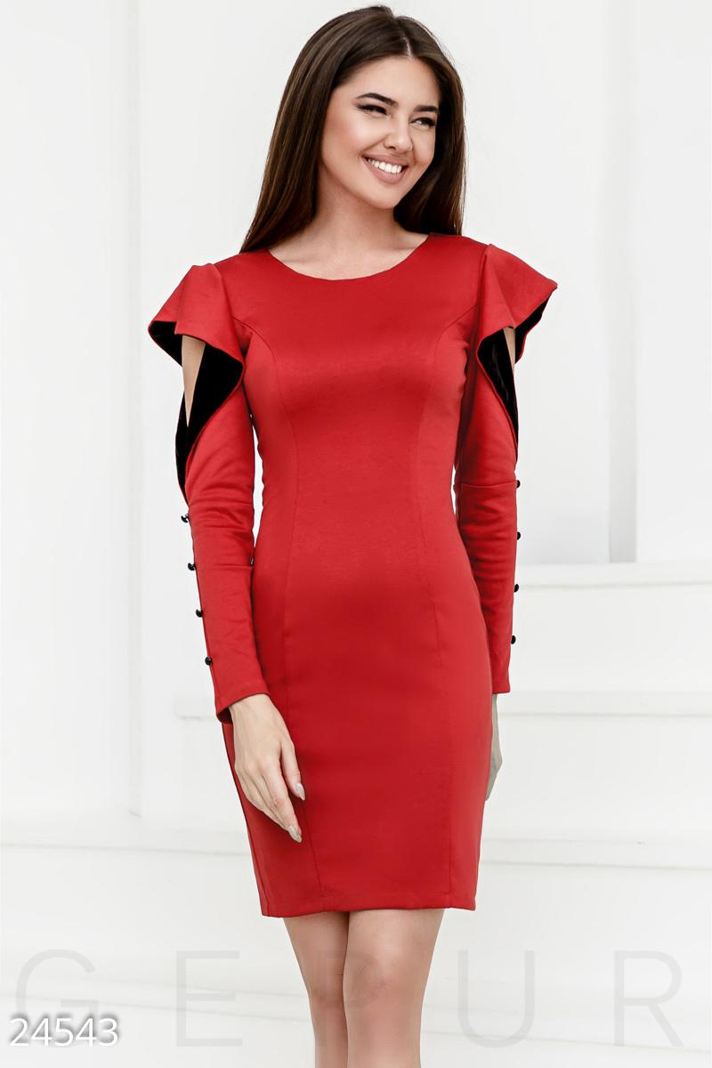 8cb82968fe9 Оригинальное трикотажное платье - купить оптом и в розницу
