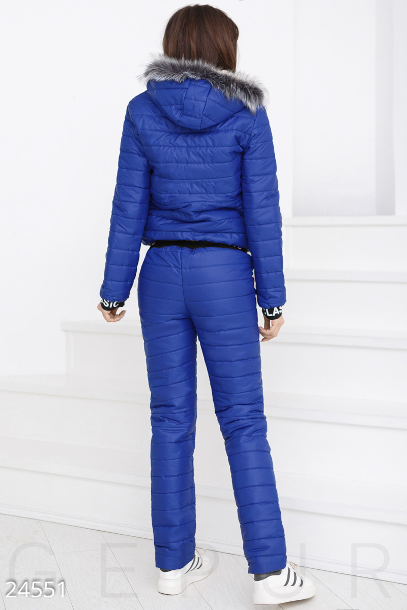 Winter quilted suit