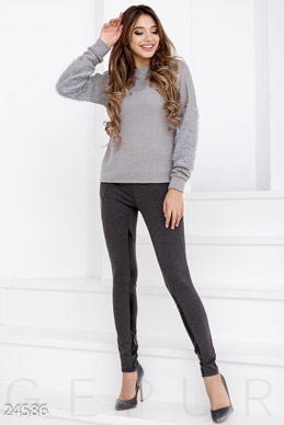 Trendy knit leggings  photo 1
