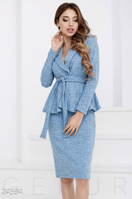 Knit skirt suit  photo 1
