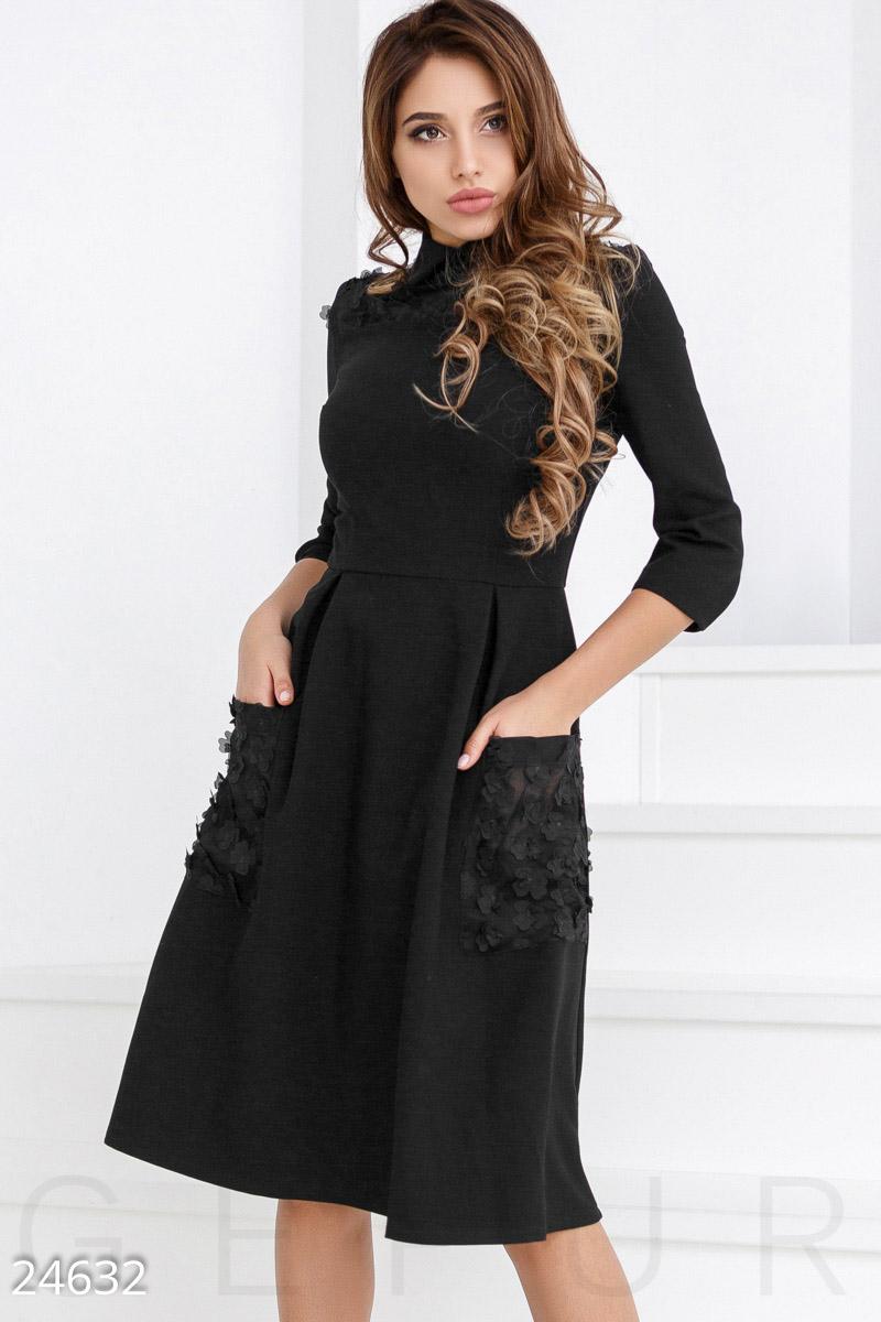 9f1c6c34b29 Строгое платье А-силуэта - купить оптом и в розницу