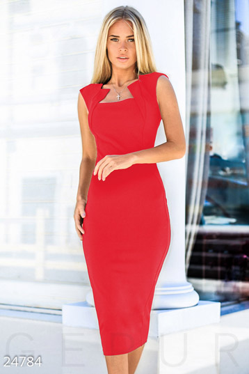 ee547973e16 Купить вечерние платья красного цвета по низкой цене в Украине и ...