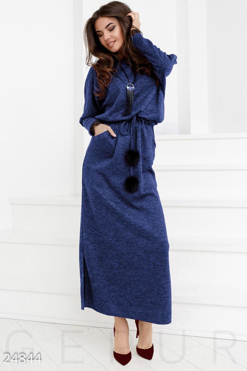 45d9f8b44b5 Теплое платье-реглан - купить оптом и в розницу