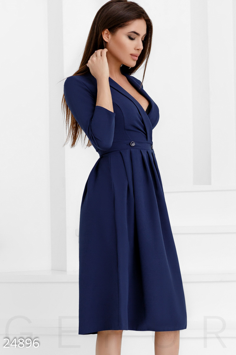 Spectacular dress to the smell Blue 24896
