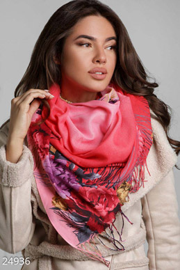 A bright scarf-stole  photo 1