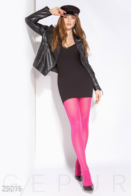 Colored opaque tights  photo 1