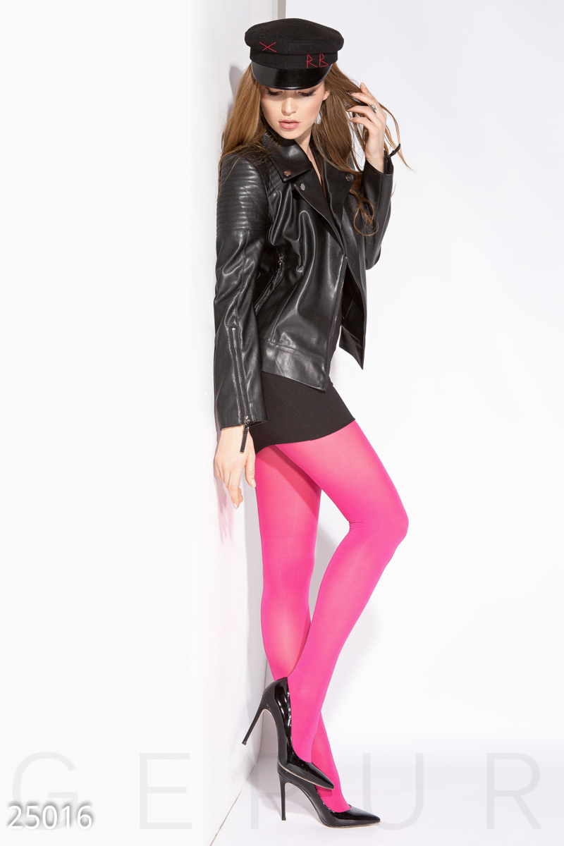 Colored tights Pink 25016